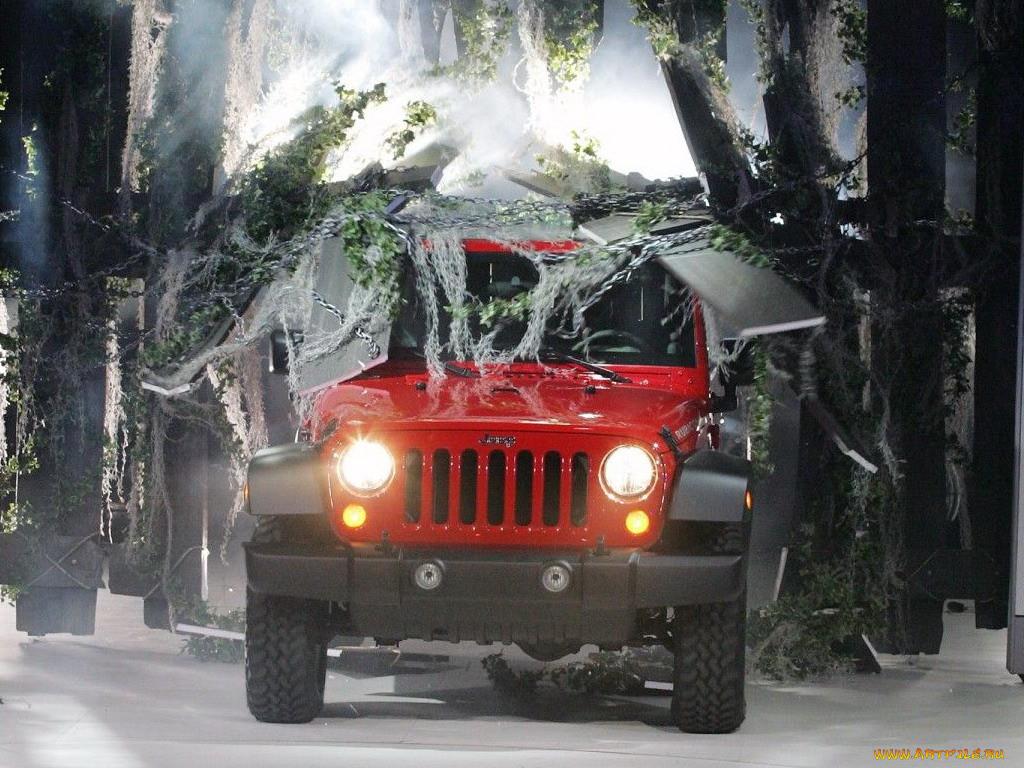 Jeep Wrangler.  Случайное.